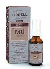 Liddell Laboratories Detox Metals, 1oz.