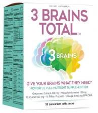 Natural Factors 3 Brain Supplement Kit, 30 pk.