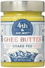 4th & Heart Grass Fed Himalayan Pink Salt Ghee, 9 oz.