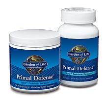 Garden of Life Primal Defense ULTRA, 180 vegetarian capsules