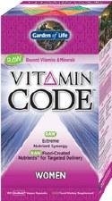 Garden of Life Vitamin Code Women's Formula, 120 vegetarian capsules
