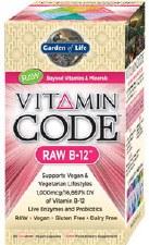 Garden of Life Vitamin Code B12, 30 vegie caps