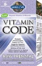 Garden of Life Vitamin Code Raw Prenatal, 90 vegie caps