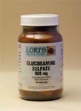 Lori's Glucosamine Sulfate 500mg 90 tablets