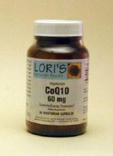 Lori's CoQ10 60mg 60 capsules