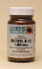 Lori's Methyl B-12 1000mcg 100 lozenges