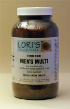 Lori's Multi Men 180 vegetarian tablets