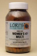 Lori's Multi Women 45+ 180 capsules