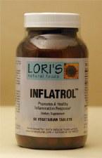 Lori's Inflatrol, 60 vegetarian tablets
