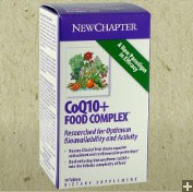New Chapter CoQ10 60 vegetarian capsules
