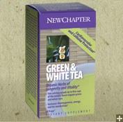 New Chapter Green & White Tea 60 vegetarian capsules