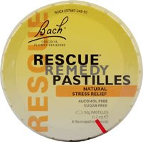 Bach Remedies Rescue Remedy Pastilles