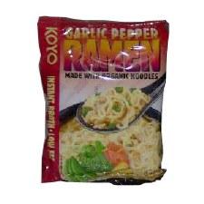 Koyo Garlic Pepper Ramen Noodles