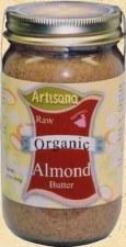 Artisana Organic Raw Almond Butter, 14 oz.
