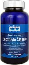 Trace Minerals Research Electrolyte Stamina, 300 tablets