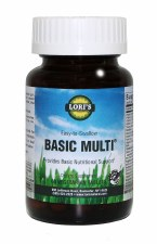 Lori's Basic Multi 60 vegetarian tablets