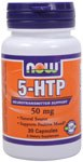 NOW 5-HTP 50mg 30 Capsules