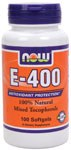 NOW E-400 100 Softgels