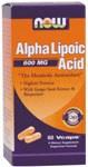 NOW Alpha Lipoic 600mg 60 Veggiecaps