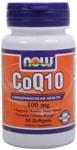 NOW CoQ10 100mg 50 softgels