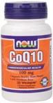 NOW CoQ10 100mg 30 Veggiecaps