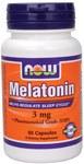 NOW Melatonin 3mg 60 Caps