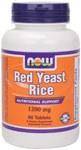 NOW Red Yeast Rice 1200mg 60 Tabs