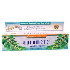 Auromere Ayurvedic Licorice Toothpaste, 4.16 oz.