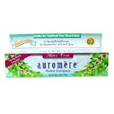 Auromere Ayurvedic Mint-Free Toothpaste, 4.16 oz.