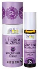 Aura Cacia Enlightening Crown Chakra Roll-On .31 fl oz