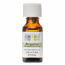 Aura Cacia Bergamot (Bergaptene-Free) Essential Oil .5 fl oz