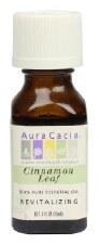 Aura Cacia Cinnamon Leaf Essential Oil .5 fl oz