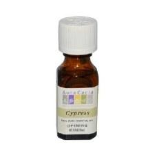 Aura Cacia Cypress Essential Oil .5 fl oz