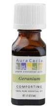 Aura Cacia Geranium Essential Oil .5 fl oz