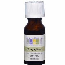 Aura Cacia Grapefruit Essential Oil .5 fl oz