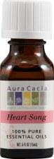 Aura Cacia Heart Song Essential Oil Blend .5 fl oz