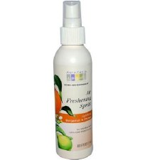 Aura Cacia Bergamot Orange Air Freshening Spritz 6 fl oz