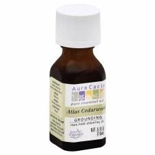 Aura Cacia Atlas Cedarwood Essential Oil, .5 oz.