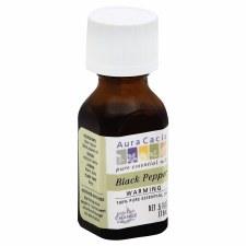 Aura Cacia Black Pepper Essential Oil, .5 oz.