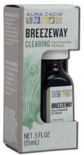 Aura Cacia Breezeway Clearing Pure Essential Oil Blend, .5 fl. oz.