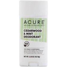 Acure Cedarwood & Mint Deodorant, 2.25 oz.