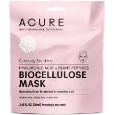 Acure Biocellulose Soothing Mask, 1 oz.