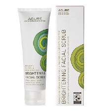 Acure Brightening Facial Scrub 4oz