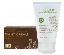 Acure Night Cream Chlorella Growth Factor 1.75oz