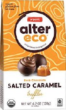Alter Ego Caramel Sea Salt Truffles, 3 count