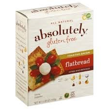 Absolutely Gluten Free Toasted Onion Flatbread, 5.3 oz.