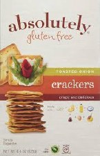 Absolutely Gluten Free Original Crackers, 4.4 oz.
