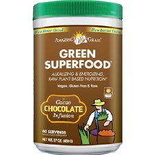 Amazing Grass Chocolate Infusion Green Superfood, 17 oz.