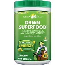 Amazing Grass Lemon Lime Energy Green Superfood, 14.8 oz.