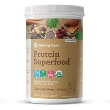 Amazing Grass Chocolate Peanut Butter Protein Superfood, 15.5 oz.